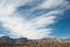 Desierto de la montaña Imágenes de archivo libres de regalías
