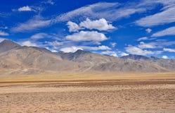 Desierto de la montaña de la alta altitud Foto de archivo libre de regalías