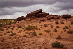 Desierto de la página de Arizona California fotografía de archivo