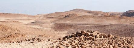 Desierto de la piedra de Judean Imagen de archivo