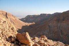 Desierto de la piedra de Judean Fotografía de archivo