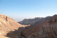 Desierto de la piedra de Judean Imagenes de archivo