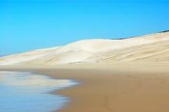 Desierto de la playa Imagen de archivo libre de regalías
