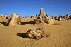 Desierto de los pináculos Fotos de archivo libres de regalías