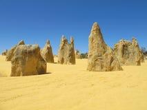 Desierto de los pináculos, parque nacional de Nambung, Australia del oeste Fotos de archivo