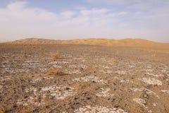 Desierto de Maranjab, Irán Imagen de archivo libre de regalías