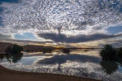 Desierto de Marocco Mahamid Foto de archivo