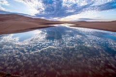 Desierto 3 de Marocco Mahamid Fotos de archivo libres de regalías