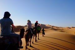 Desierto de Marruecos Fotografía de archivo