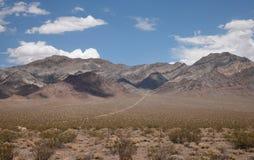 Desierto de Mojave Foto de archivo