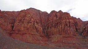 Desierto de monta?a rojo del lado de Ivins metrajes