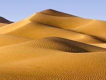 Desierto de Oriente Medio Foto de archivo libre de regalías