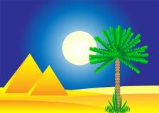 Desierto de Sáhara ilustración del vector
