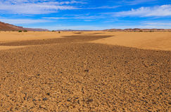 Desierto de Sáhara, Marruecos Fotografía de archivo libre de regalías