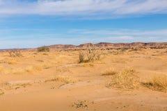 Desierto de Sáhara, Marruecos Foto de archivo libre de regalías
