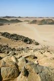 Desierto de Sáhara norteño Imágenes de archivo libres de regalías