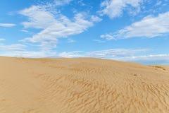 Desierto de Sandy Imagen de archivo libre de regalías