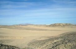 Desierto de Sandy Egyptian Imagenes de archivo