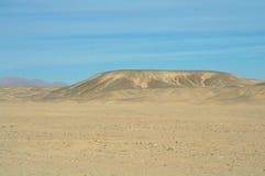 Desierto de Sandy Egyptian Fotografía de archivo