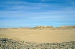 Desierto de Sandy Egyptian Imágenes de archivo libres de regalías
