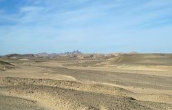 Desierto de Sandy Egyptian Fotos de archivo