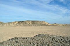 Desierto de Sandy Egyptian Foto de archivo
