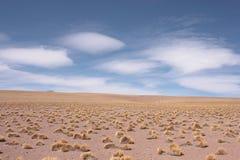 Desierto de Silol y el cielo Imagen de archivo