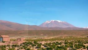 Desierto de Siloli en boliviano Altiplano, Suramérica Imagen de archivo