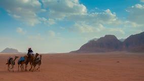 Desierto de Wadi Rum, Jordania Imagenes de archivo