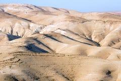 Desierto de Yehuda Foto de archivo libre de regalías