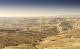 Desierto de Yehuda fotografía de archivo libre de regalías