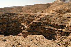 Desierto de Yehuda Fotografía de archivo