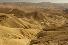 Desierto de Yehuda Imagen de archivo libre de regalías