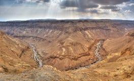 Desierto de Yehuda, Israel Imagen de archivo libre de regalías