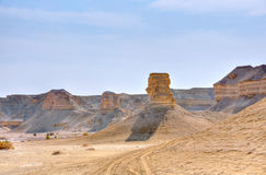 Desierto de Yehuda, Israel Foto de archivo libre de regalías