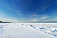 Desierto del hielo fotografía de archivo