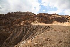 Desierto del Néguev - Israel Foto de archivo libre de regalías