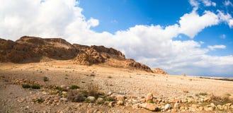Desierto del Néguev - Israel Foto de archivo