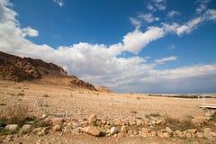 Desierto del Néguev - Israel Imagen de archivo libre de regalías