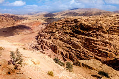 Desierto del Petra Fotos de archivo