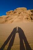 Desierto del ron de Vadi fotografía de archivo libre de regalías