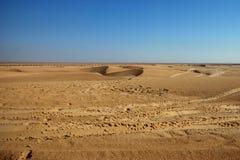 Desierto del Sáhara Fotografía de archivo