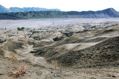 Desierto del volcán de Bromo Imagenes de archivo