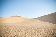 Desierto en el camino de seda Fotos de archivo