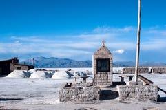 Desierto en el Jujuy, la Argentina de la sal de Grandes de las salinas imágenes de archivo libres de regalías