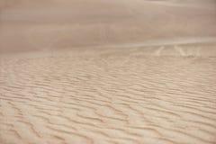 Desierto en Huacachina, Perú Dunas del primer Imagenes de archivo