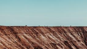 Desierto en Israel imagen de archivo libre de regalías