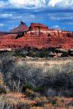 Desierto escénico imagen de archivo libre de regalías