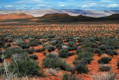 Desierto escénico Ridge Fotografía de archivo
