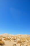 Desierto espartano Foto de archivo libre de regalías
